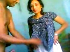 Indian Couple seduce girl for money Fucked Hard Recorded By Friend MMS