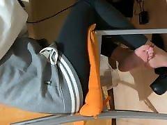 Flats shoeplay Marta Black Flats Day 2 Part 12 1080p
