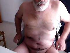 Older cum on cam 9