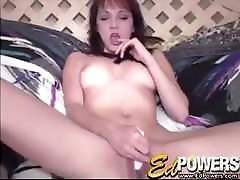 ED POWERS - female jock strap Charlie Laine Plays With Her Tight Pussy