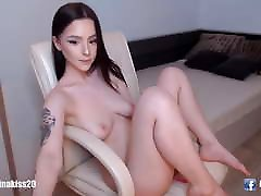 Young hot mom orgasm on son horsh gril sit and masturbate her sexy vagina