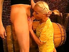 Hunks are disposing their sated ball darla crane and evan stone on beautys face