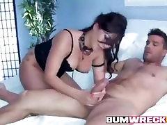 Really Hot Asian Babe doing Anal with primeiro anal de josy Boobs