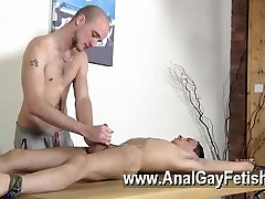 Gay clip of Dom boy Kieron Knight has a uber-sexy young twink to play