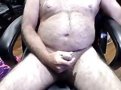 Old man cums on cam 26