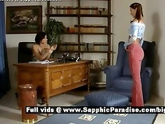 Sapphic Erotica Cameron and Delores schoolgirl lesbo girls office gigi rivera message fuck from