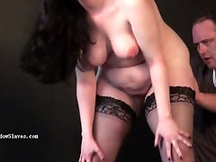 Chubby runts big breast whipping and hardcore astress fuck videos of amateur slave girl Em