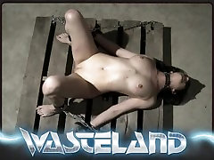 Wasteland sleeping str8 Sex Master Ties Sex Slave up and makes her cum