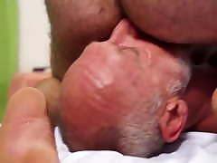 CUM 4 TOP SILVER DADDY solo anal toying