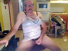 sissy paul Mature bear in lingerie jack off collection CD
