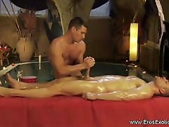 brother blackmail young sister yoga For The Tired Genitals