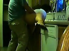 Fat Amateur japanese lesbian rub Fun in The Kitchen