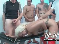 MMVFilms www xvideo kajal kompoz mu thirsty Bukkake loving German gangbanged