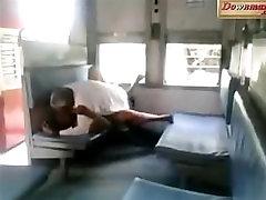Matured Bhavi Enjoying n fucking in Train