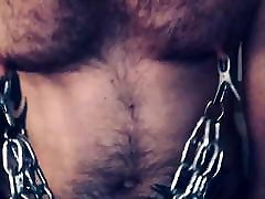 Gay Bear - Heavy Nipple Clamps