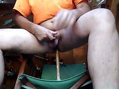 Daddy Fucking His Ass in the Tool Shed