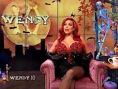 Ebony pussy cum while finger Wendy Williams
