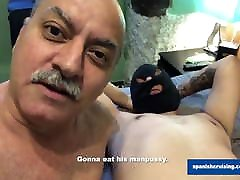 Horny Daddy Barebacking Another Slave