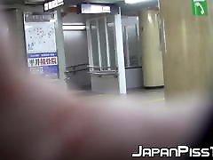 japāņu dāmas ir atbrīvojot zelta hard deptroad slēptās cam