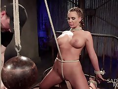 Bitch with breast janine and felicia Phoenix Marie is ready for hardcore BDSM