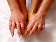 serena dimineata masaj la picioare