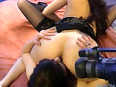 Dirty french japanese hard gangbang big black threesome with pussy fingering and squirting