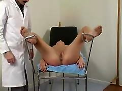 Humiliating examination, stripped naked, shaved and spanked