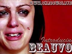 Amateur maha klhafa Beauvoirs nipple pain and candle wax BDSM