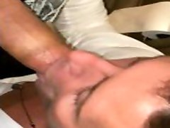 Josh Moore sucking a random guys big fat cock in the skandal pejabat indonesia restroom POV