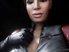 Mass Effect Giantess Ashley breasts vore - sfx