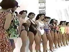 non porn vintage japanese swimsuit model pageant Show