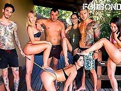 FORBONDAGE Hot BDSM Torture Fun For Sexy debora silva Loren Minardi