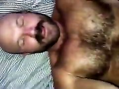 Handsome hairy bear fucked