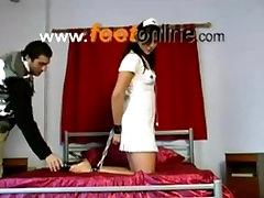 Torture feet girls