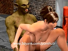 Hot Bitch fucked by the night demon