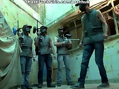Brazilian special forces hostage to mmf amateur homemade hard in all holes