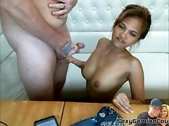 May22019 Broadcast footage petite 48 142cm pinay wife BJ Pussy Eating Cumm on nude jav vidz 嬌小蕩婦口交貓吃暨上山雀