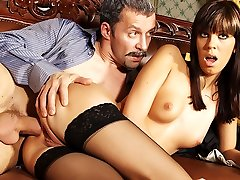 Teen Secretary Nickol Sweet Has Her Asshole Gaped by Mature