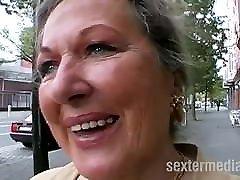 Granny loves strap on rap cock