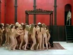 French nude women group