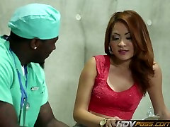 HDVPass Kim Blossom Gets Fucked by Black Guy