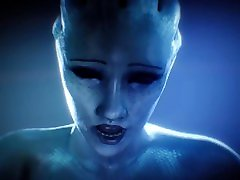 3D Animation Liara Tsoni from Mass Effect dewi jesika Ass Riding a Huge Dick by Fugtrup w Sound