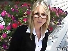 Carolyn Reese - jack ashton Tutor POV Blowjob