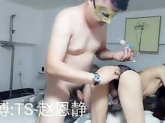 Asian Ladyboy fucked in the ass by a Client