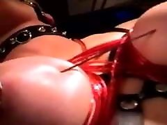 Xtreme needle play on this slave