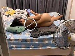 คู่รักแอบชวนกันมาเย็ดที่ห้อง เสียงไทยasian Thai FWB teen fuck