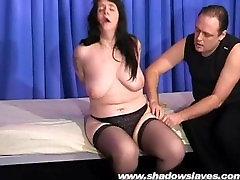 Mature Jays busty whipped cruel and hogtied bondage of tormented ebony webcame slaveslut