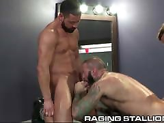 3 Muscle raping her ass Strippers Pound It Out In The Dressing Room
