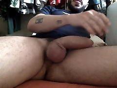 Very hot sexy wanker huge cock