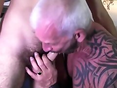Silver tattooed shocl bus wet lingerie young hairy guy